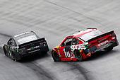 #18: Kyle Busch, Joe Gibbs Racing, Toyota Camry Skittles #1: Kurt Busch, Chip Ganassi Racing, Chevrolet Camaro Monster Energy