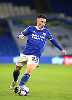 26th December 2020; Cardiff City Stadium, Cardiff, Glamorgan, Wales; English Football League Championship Football, Cardiff City versus Brentford; Harry Wilson of Cardiff City cuts back inside on the ball