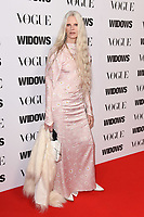 """Kristen McMenamy<br /> arriving for the """"Widows"""" special screening in association with Vogue at the Tate Modern, London<br /> <br /> ©Ash Knotek  D3457  31/10/2018"""