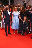 Thomas Hollande et Segolene Royal, sur le tapis rouge pour la projection du film YOU WERE NEVER REALLY HERE, en competition lors du soixante-dixième (70ème) Festival du Film à Cannes, Palais des Festivals et des Congres, Cannes, Sud de la France, samedi 27 mai 2017. X - RED CARPET OF THE FILM 'YOU WERE NEVER REALLY HERE' AT THE 70TH FESTIVAL OF CANNES 2017