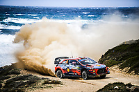 THIERRY NEUVILLE<br /> Rally d'Italia 2020 Sardegna <br /> Foto Andre Lavadinho / Panoramic / Insidefoto <br /> ITALY ONLY