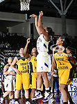Alcorn State Lady Braves guard Renelle Richmond (11) in action during the SWAC Tournament game between the Alcorn State Braves and the Grambling State Tigers at the Special Events Center in Garland, Texas. Grambling State defeats Alcorn State 72 to 63.