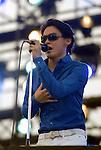Rock musican Ryuichi Kawamura performs druing Jonetsu Tairiku Summer Live 2008. 9 August, 2008. (Taro Fujimoto/JapanToday/Nippon News)