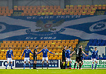 St Johnstone v Livingston…12.12.20   McDiarmid Park      SPFL<br />A miserable evening for saints at McDiarmid Park as they lose 2-1 to LIvingston<br />Picture by Graeme Hart.<br />Copyright Perthshire Picture Agency<br />Tel: 01738 623350  Mobile: 07990 594431