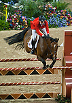19 April 2009: Beezie Madden(USA) and Danny Boy at the Rolex FEI World Cup Final III, first round.