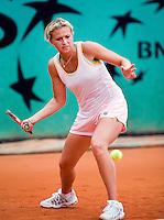 25-5-08, France,Paris, Tennis, Roland Garros, Michaella Krajicek op de trainingsbaan