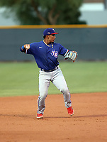 Maximo Acosta - Texas Rangers 2021 extended spring training (Bill Mitchell)