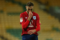 6th April 2021; Carrow Road, Norwich, Norfolk, England, English Football League Championship Football, Norwich versus Huddersfield Town; A dejected Richard Keogh of Huddersfield Town as his team got 5-0 behind