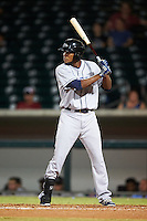 Peoria Javelinas Franchy Cordero (10), of the San Diego Padres organization, during a game against the Mesa Solar Sox on October 15, 2016 at Sloan Park in Mesa, Arizona.  Peoria defeated Mesa 12-2.  (Mike Janes/Four Seam Images)