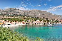The port of Agia Efimia in Kefalonia island, Greece