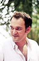 Quintin Tarantino, director films, Taormina 7 august 1994,  © Leonardo Cendamo / Blackarchives