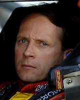 Apr 20, 2006; Phoenix, AZ, USA; Nascar Nextel Cup driver Dave Blaney of the (22) Caterpillar Dodge Charger during qualifying for the Subway Fresh 500 at Phoenix International Raceway. Mandatory Credit: Mark J. Rebilas