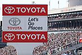 Toyota, signage, crowd