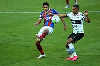16th November 2020; Couto Pereira Stadium, Curitiba, Brazil; Brazilian Serie A, Coritiba versus Bahia; William Matheus of Coritiba and Fressin of Bahia