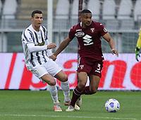 Torino 03-04-2021<br /> Stadio Grande torino<br /> Serie A  Tim 2020/21<br /> Torino - Juventus<br /> Nella foto: Bremen Ronaldo                                  <br /> Antonio Saia Kines Milano