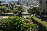 Lombard Street is an east–west street in San Francisco, California. It is famous for having a steep, one-block section that consists of eight tight hairpin turns.