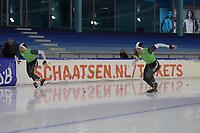 SCHAATSEN: HEERENVEEN, 21-12-2019, IJsstadion Thialf, KNSB Topsporttrainingswedstrijd, Michel en Ronald Mulder, ©foto Martin de Jong