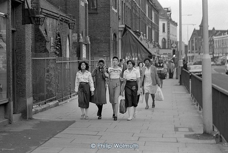 Harrow Road, North Paddington, London, 1978