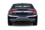 Straight rear view of 2018 Buick LaCrosse Essence 4 Door Sedan Rear View  stock images