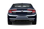 Straight rear view of 2018 Buick LaCrosse Essence 4 Door Sedan Rear View  stock images