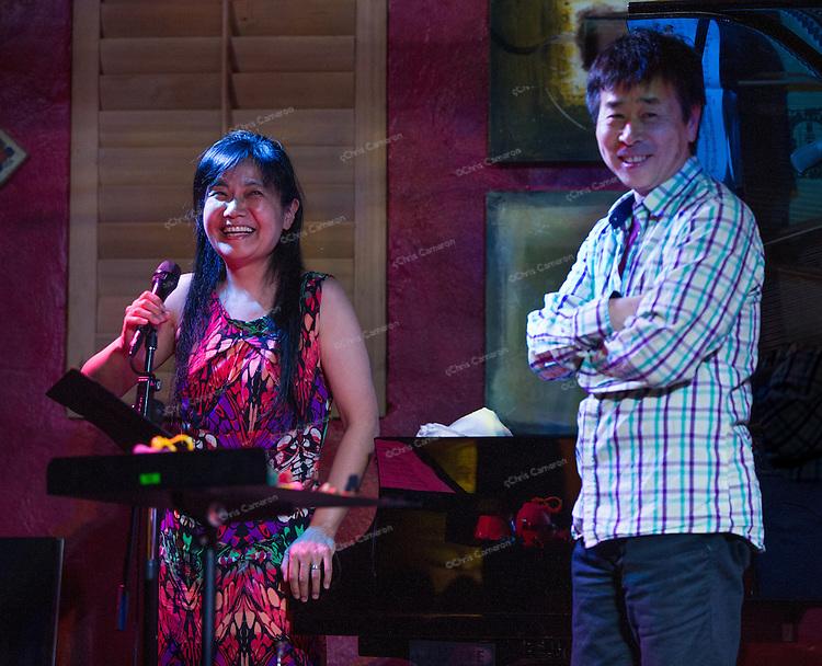 Sakoto Fujii and Natsuki Tamura at IronWorks, June 23, TD Vancouver International Jazz Festival