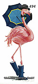 Malenda, REALISTIC ANIMALS, REALISTISCHE TIERE, ANIMALES REALISTICOS, paintings+++++,USMT494,#a#, EVERYDAY ,flamingo