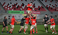 12 December 2020; Paddy Kelly during the A series inter-pros series 20-21 between Ulster A and Munster A at Kingspan Stadium, Ravenhill Park, Belfast, Northern Ireland. Photo by John Dickson/Dicksondigital