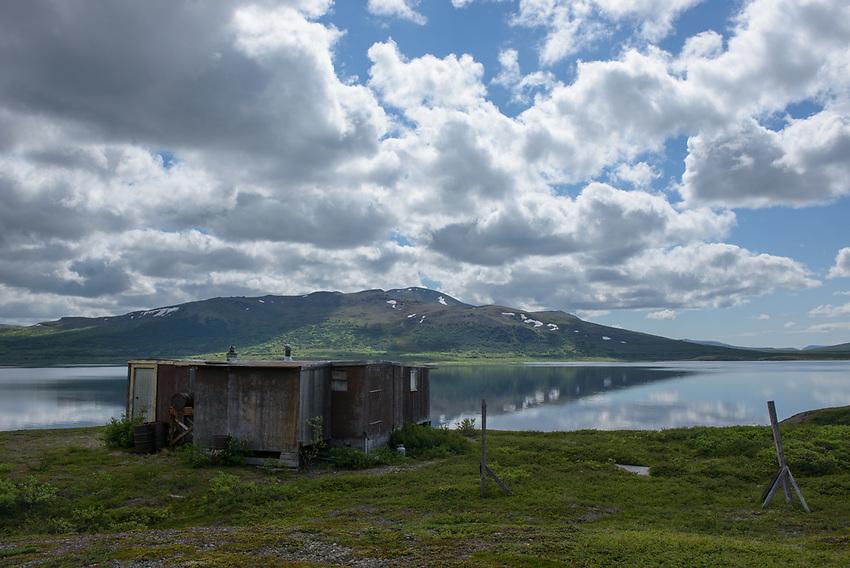 Salmon Lake near Nome, Alaska. Photo by James R. Evans