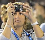 Federer wins at Australian Open in Melbourne Australia on 19th January 2013