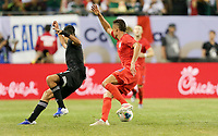 CHICAGO, ILLINOIS - JULY 07: Aaron Long #23 during the 2019 CONCACAF Gold Cup Final match between the United States and Mexico at Soldier Field on July 07, 2019 in Chicago, Illinois.