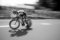 Mark Cavendish (GBR/Etixx-QuickStep) during the stage 1 prologue recon in Utrecht (13.8km)<br /> <br /> Tour de France 2015