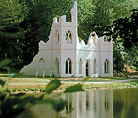 Painshill Park,  near Cobham, Surrey, England, one of the finest remaining examples of an 18th-century English landscape park. It was designed and created between 1738 and 1773 by the Hon. Charles Hamilton.