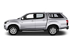 Car Driver side profile view of a 2019 Isuzu D-Max LSX-4wd-crew-cab 5 Door Pick-up Side View