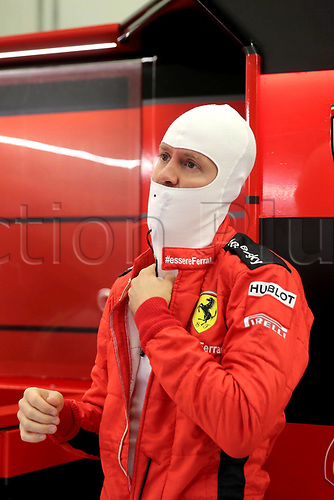 14th November 2020; Istanbul Park, Istanbul, Turkey; FIA Formula One World Championship 2020, Grand Prix of Turkey, qualifying; 5 Sebastian Vettel GER, Scuderia Ferrari Mission Winnow