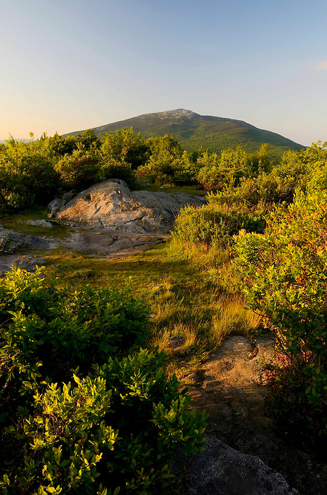 A portrait featuring the grand summit of Mt. Monadnock.