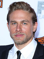 HOLLYWOOD, LOS ANGELES, CA, USA - SEPTEMBER 06: Actor Charlie Hunnam arrives at the Los Angeles Premiere Of FX's 'Sons Of Anarchy' Season 7 held at the TCL Chinese Theatre on September 6, 2014 in Hollywood, Los Angeles, California, United States. (Photo by Xavier Collin/Celebrity Monitor)