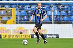 Waldhofs Marcel Seegert (Nr.5) am Ball beim Spiel in der 3. Liga, SV Waldhof Mannheim - FC Ingolstadt.<br /> <br /> Foto © PIX-Sportfotos *** Foto ist honorarpflichtig! *** Auf Anfrage in hoeherer Qualitaet/Aufloesung. Belegexemplar erbeten. Veroeffentlichung ausschliesslich fuer journalistisch-publizistische Zwecke. For editorial use only. DFL regulations prohibit any use of photographs as image sequences and/or quasi-video.