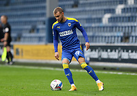 Shane McLoughlin of AFC Wimbledon during AFC Wimbledon vs Shrewsbury Town, Sky Bet EFL League 1 Football at The Kiyan Prince Foundation Stadium on 17th October 2020