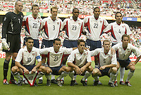 USA team photo vs Mexico, 2002 World Cup, South Korea.