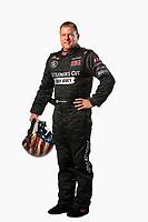 Feb 6, 2019; Pomona, CA, USA; NHRA funny car driver Jim Campbell poses for a portrait during NHRA Media Day at the NHRA Museum. Mandatory Credit: Mark J. Rebilas-USA TODAY Sports