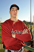 Feb 25, 2010; Kissimmee, FL, USA; The Houston Astros outfielder Brian Bogusevic (19) during photoday at Osceola County Stadium. Mandatory Credit: Tomasso De Rosa/ Four Seam Images