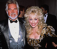 Kenny Rogers, Dolly Parton 1988 Photo by Adam Scull-PHOTOlink.net
