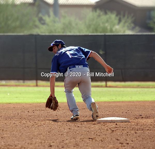 Thomas Saggese - 2020 AIL Rangers (Bill Mitchell)