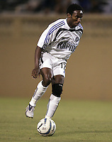13 August 2005:  Jeff Cunningham of the Rapids in action against the Earthquakes at Spartan Stadium in San Jose, California.  Earthquakes tied Rapids, 1-1.