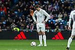 during the match of Copa del Rey between Real  Madrid and  Celta de Vigo at Santiago Bernabeu Stadium  in Madrid , Spain. January 18 2017. (ALTERPHOTOS/Rodrigo Jimenez)
