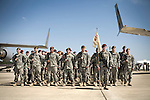March 17, 2008. Fayettevile, NC..Members of the 1st and 2nd Brigade Combat Team of the 82nd Airborne, based at Ft. Bragg, return home after a 15 month deployment in Iraq.