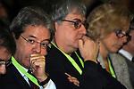 PAOLO GENTILONI ED ERMETE REALACCI<br /> ASSEMBLEA NAZIONALE PARTITO DEMOCRATICO<br /> FIERA DI ROMA - 2009
