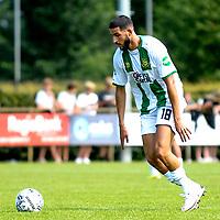 LEEK - Voetbal, Pelikaan S - FC Groningen , voorbereiding seizoen 2021-2022, oefenduel, 03-07-2021, FC Groningen speler Ahmed El Messaoudi