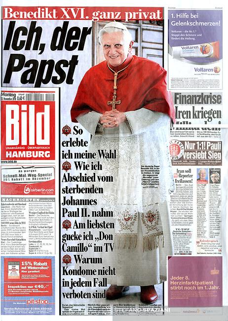 Bild German Magazine  Pope Benedict XVI Photograph by Stefano Spaziani