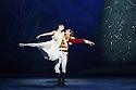 London, UK. 13.12.2016. English National Ballet presents NUTCRACKER, at the London Coliseum. Choreography by Wayne Eagling, based on a concept by Toer van Schayk and Wayne Eagling, music by Pyotr Ilyich Tchaikovsky, design by Peter Farmer, lighting by David Richardson. Picture shows: Alina Cojocaru (Clara), James Forbat (Nutcracker). Photograph © Jane Hobson.,